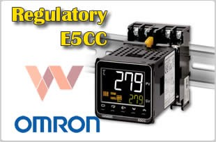 E5CC Regulator  temperatury E5CC-QX3D5M-001