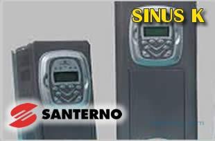 Falownik Włoskiej firmy Santerno SINUS K0038 4TBA2K2