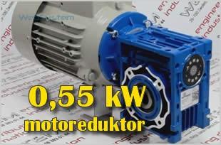 Motoreduktor kątowy 0,55kW i45