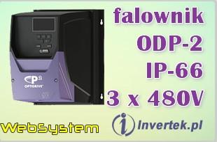Tanie falowniki Invertek 4kW ODP2244003KF4XSN