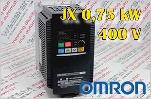 Przemiennik częstotliwości 0,75kW 3G3JX A4007 E F
