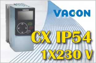 Falownik IP54 230V Vacon 55CXL2G5N0