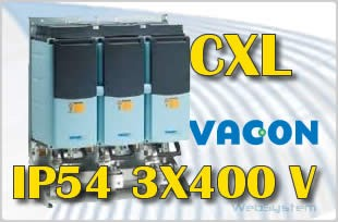 Falownik CXL IP54 75-kW Vacon 75CXL5G5N0