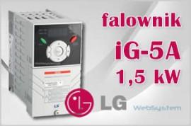 Falownik LG iG5A 1,5 kW 1,5kW/400v SV  015iG5A 4