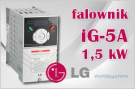 Falownik LG iG5A 1,5 kW 1,5kW/400v SV015  iG5A 4