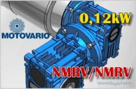 motoreduktor kątowy ślimakowy NMRV030/063 i=600.0