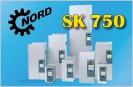 Przemienniki częstotliwości falowniki SK750E182340A