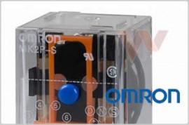 Przekażnik z podstawką MKS2P-V-2 AC50 BY OMZ